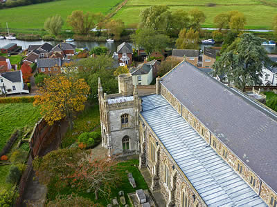 Beccles Church Roof