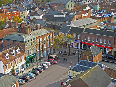 Beccles Town Centre
