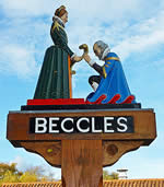 Beccles Town Sign