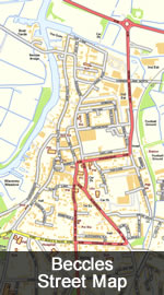 Beccles Map