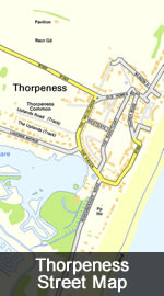 Thorpeness Map