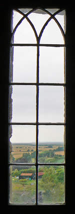 Castle Window View
