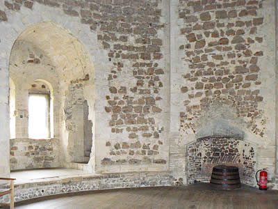 Orford Castle Room