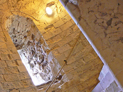 Orford Castle Staircase