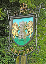 Orford Village Sign