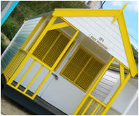 Yellow Beach Hut