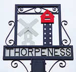Thorpeness Village Sign